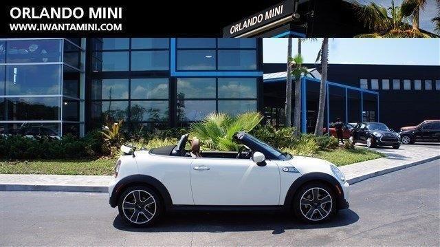 2014 mini cooper roadster convertible s for sale in orlando florida classified. Black Bedroom Furniture Sets. Home Design Ideas