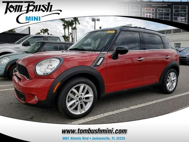 2014 mini countryman cooper s cooper s 4dr crossover for sale in jacksonville florida. Black Bedroom Furniture Sets. Home Design Ideas