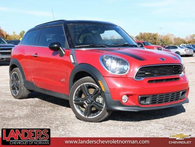 2014 mini paceman cooper s all4 awd cooper s all4 2dr hatchback for sale in norman oklahoma. Black Bedroom Furniture Sets. Home Design Ideas