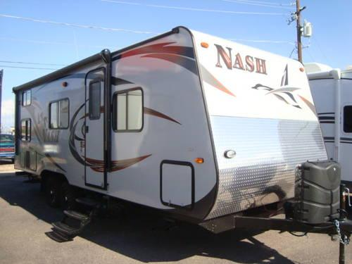 Nash Travel Trailers >> 2014 Nash 23B Four Season travel trailer - Forged on the frontier for Sale in Mesa, Arizona ...