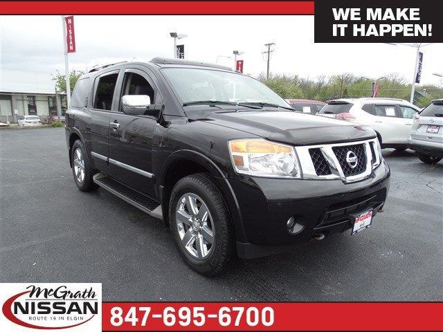 2014 nissan armada platinum 4x4 platinum 4dr suv for sale in elgin illinois classified. Black Bedroom Furniture Sets. Home Design Ideas