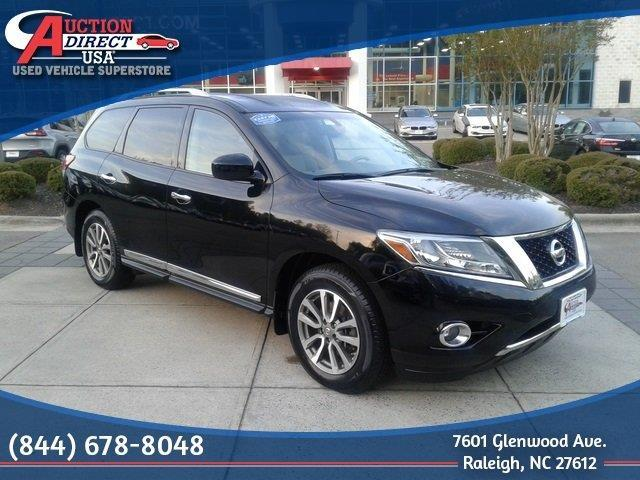 2014 nissan pathfinder sv 4x4 sv 4dr suv for sale in raleigh north carolina classified. Black Bedroom Furniture Sets. Home Design Ideas