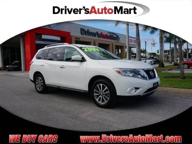 2014 nissan pathfinder sv for sale in cooper city florida classified. Black Bedroom Furniture Sets. Home Design Ideas