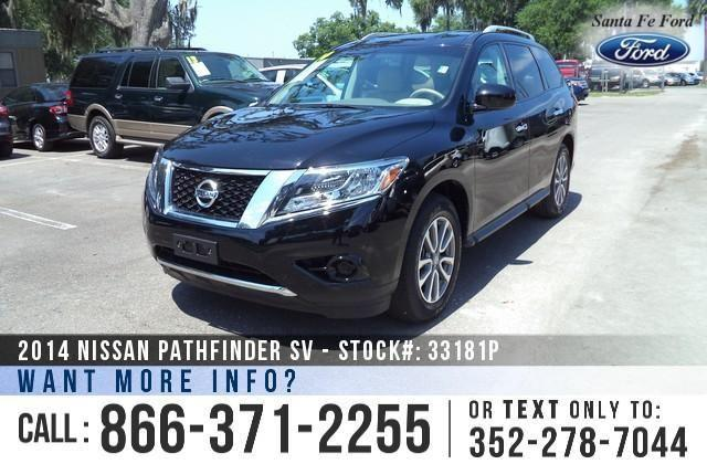 2014 Nissan Pathfinder SV - Push Button Start - Backup