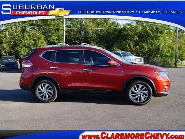 2014 nissan rogue sl sl 4dr crossover for sale in claremore oklahoma classified. Black Bedroom Furniture Sets. Home Design Ideas
