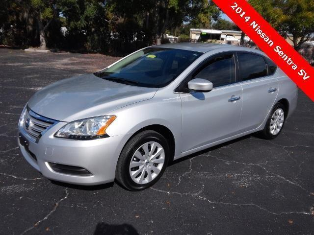 2014 Nissan Sentra 4d Sedan Sv For Sale In Titusville