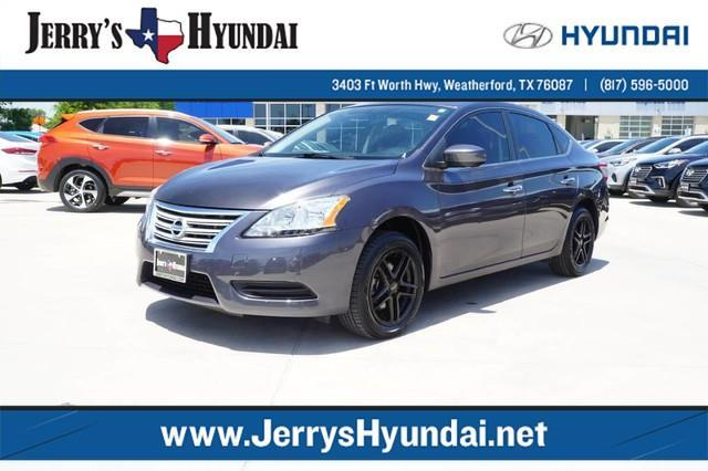 2014 nissan sentra sv sv 4dr sedan for sale in weatherford texas classified. Black Bedroom Furniture Sets. Home Design Ideas