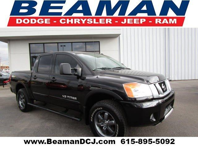 2014 nissan titan 4x4 pro 4x 4dr crew cab swb pickup for sale in murfreesboro tennessee. Black Bedroom Furniture Sets. Home Design Ideas