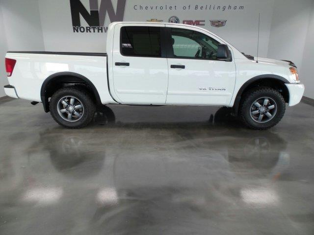 2014 nissan titan pro 4x 4x4 pro 4x 4dr crew cab swb pickup for sale in bellingham washington. Black Bedroom Furniture Sets. Home Design Ideas