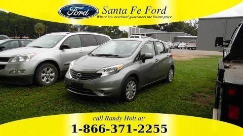 2014 NISSAN VERSA NOTE 4 DOOR HATCHBACK