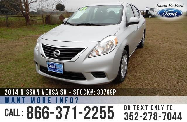 2014 Nissan Versa SV - 31K Miles - On-site Financing!