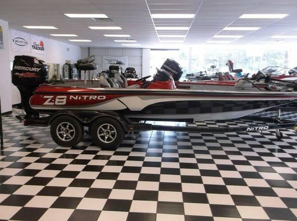 2014 Nitro Z8 powered by a Mercury 250 Pro XS for Sale in ...