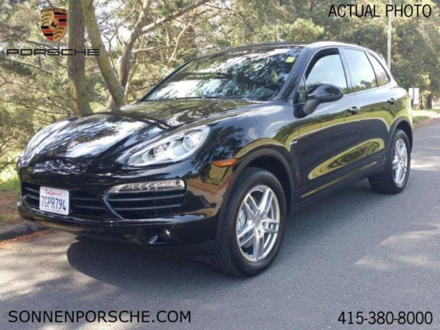 2014 porsche cayenne s hybrid for sale in mill valley. Black Bedroom Furniture Sets. Home Design Ideas