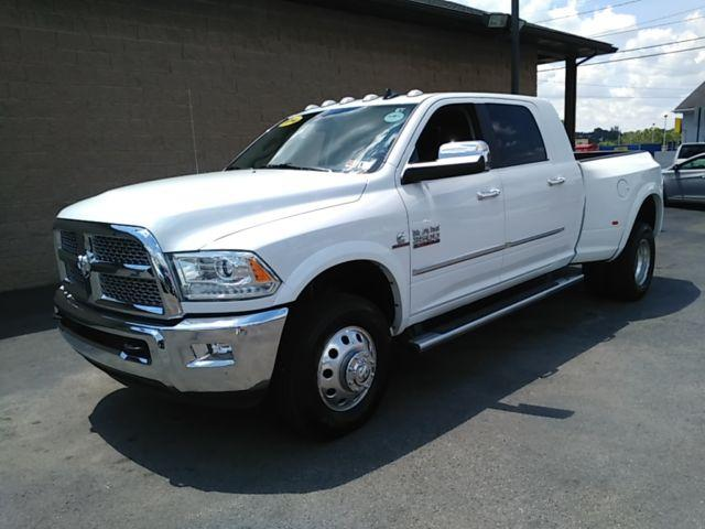 2014 Ram 3500 Laramie Mega Cab Dually with 31k miles