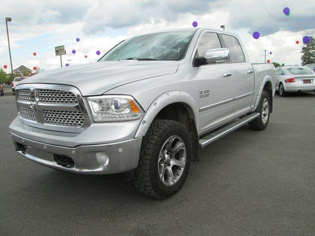 2014 ram ram pickup 1500 laramie 4x4 laramie 4dr crew cab 5 5 ft sb pickup for sale in spokane. Black Bedroom Furniture Sets. Home Design Ideas