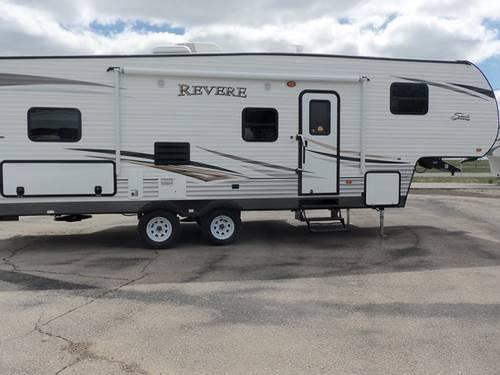 2014 Shasta Revere 27 Db - 30 U0026 39  Fifth Wheel