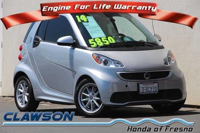 2014 smart fortwo passion electric passion electric drive 2dr hatchback for sale in fresno. Black Bedroom Furniture Sets. Home Design Ideas