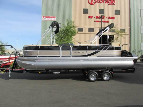 2014 south bay 524e pontoon boat for sale in gold river, california