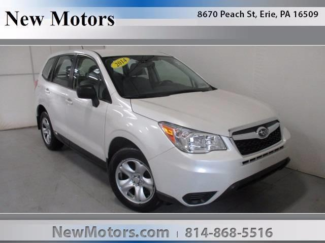 New Motors Subaru Erie Pa >> 2014 Subaru Forester 2.5i AWD 2.5i 4dr Wagon CVT for Sale in Erie, Pennsylvania Classified ...