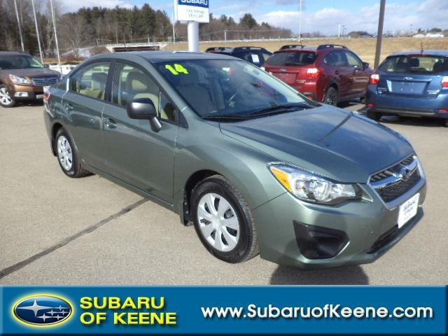 2014 subaru impreza awd 4dr sedan cvt for sale in keene new hampshire classified. Black Bedroom Furniture Sets. Home Design Ideas
