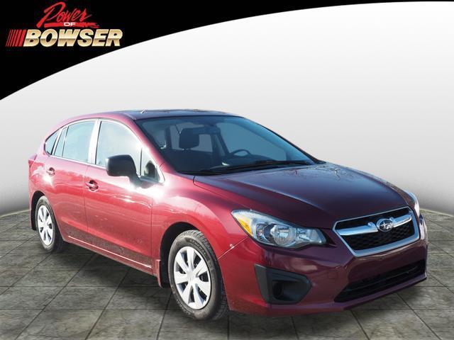 2014 Subaru Impreza 2.0i AWD 2.0i 4dr Wagon CVT