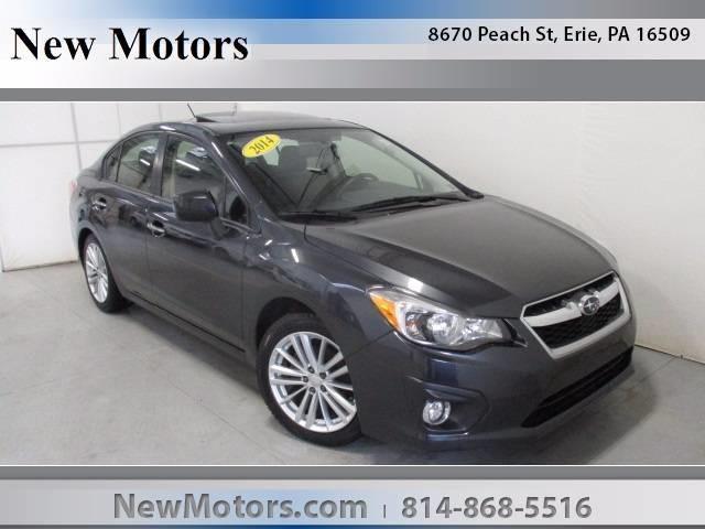 2014 Subaru Impreza Limited Awd Limited 4dr