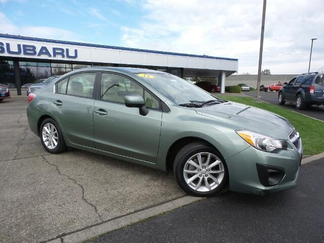 2014 subaru impreza premium awd premium 4dr sedan cvt for sale in medford oregon. Black Bedroom Furniture Sets. Home Design Ideas
