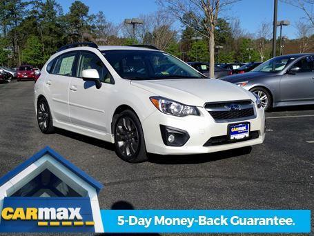 2014 subaru impreza sport premium awd sport premium 4dr wagon cvt for sale in glen. Black Bedroom Furniture Sets. Home Design Ideas