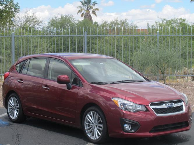 2014 subaru impreza awd limited 4dr wagon for sale in tucson arizona classified. Black Bedroom Furniture Sets. Home Design Ideas
