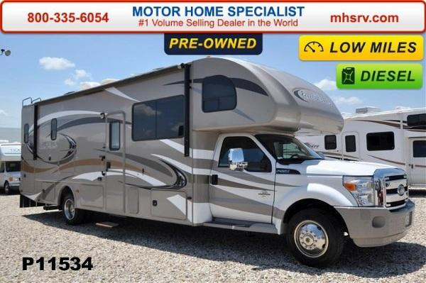 2014 Thor Motor Coach Four Winds Super C Diesel With Full