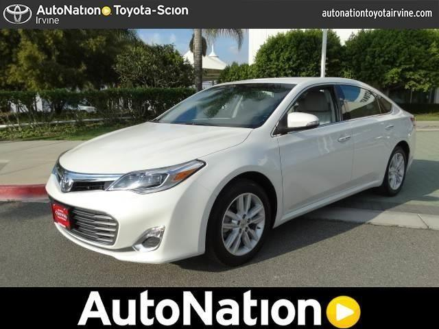 2014 toyota avalon for sale in irvine california. Black Bedroom Furniture Sets. Home Design Ideas