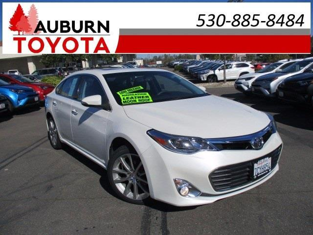 2014 toyota avalon limited limited 4dr sedan for sale in auburn california classified. Black Bedroom Furniture Sets. Home Design Ideas