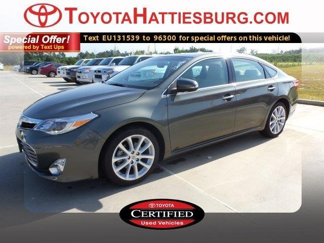2014 toyota avalon limited limited 4dr sedan for sale in hattiesburg mississippi classified. Black Bedroom Furniture Sets. Home Design Ideas