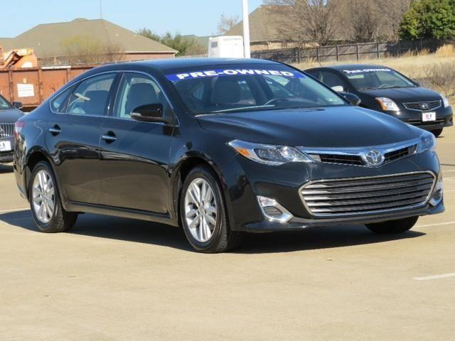 2014 toyota avalon sedan xle for sale in paris texas. Black Bedroom Furniture Sets. Home Design Ideas