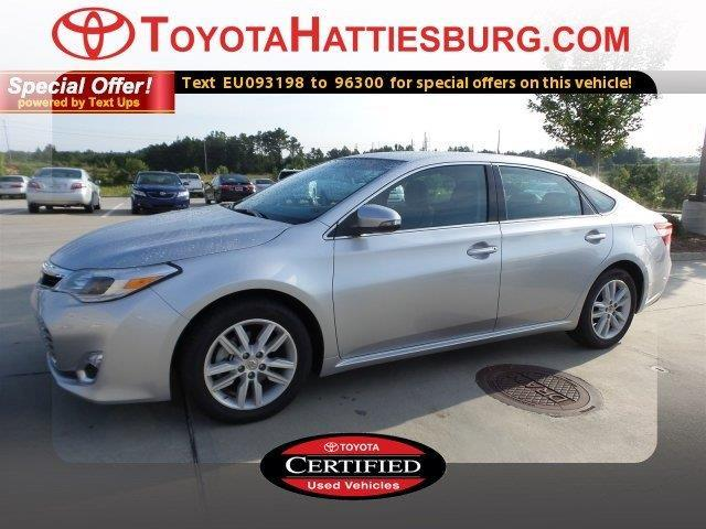 2014 toyota avalon xle xle 4dr sedan for sale in hattiesburg mississippi classified. Black Bedroom Furniture Sets. Home Design Ideas