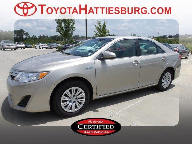 2014 toyota camry hybrid le le 4dr sedan for sale in hattiesburg mississippi classified. Black Bedroom Furniture Sets. Home Design Ideas