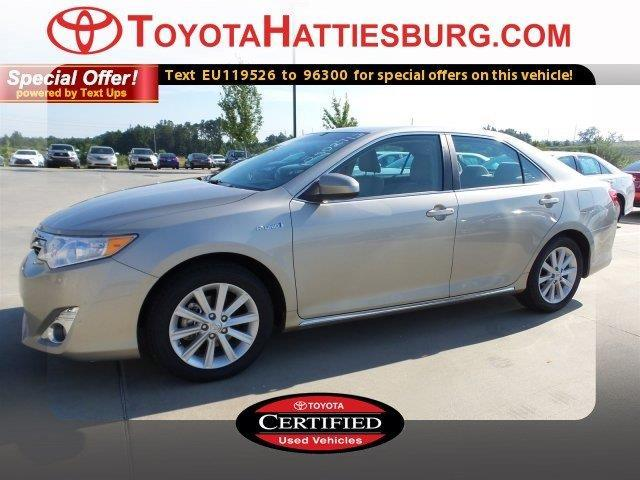 2014 toyota camry hybrid xle xle 4dr sedan for sale in hattiesburg mississippi classified. Black Bedroom Furniture Sets. Home Design Ideas