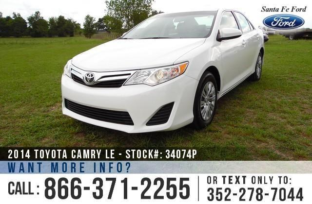 2014 Toyota Camry LE - 41K Miles - Finance Here!