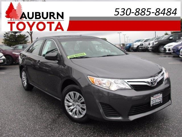 2014 toyota camry le le 4dr sedan for sale in auburn california. Black Bedroom Furniture Sets. Home Design Ideas
