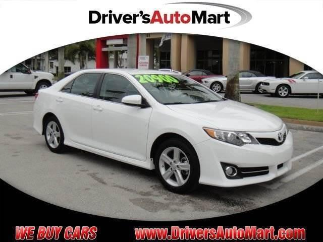 2014 toyota camry se sport for sale in cooper city florida classified. Black Bedroom Furniture Sets. Home Design Ideas