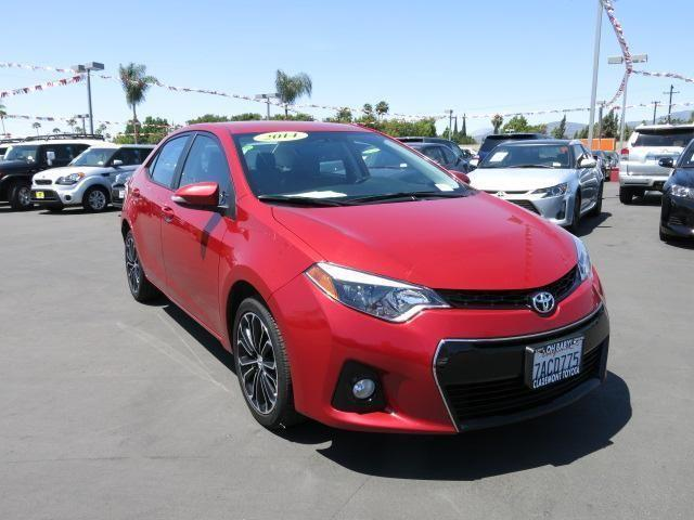 2014 toyota corolla 4dr car s plus for sale in claremont california classified. Black Bedroom Furniture Sets. Home Design Ideas