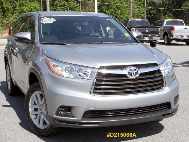 2014 toyota highlander le valdosta ga for sale in clyattville georgia classified. Black Bedroom Furniture Sets. Home Design Ideas