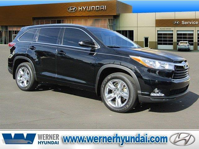 2014 Toyota Highlander Limited AWD Limited 4dr SUV
