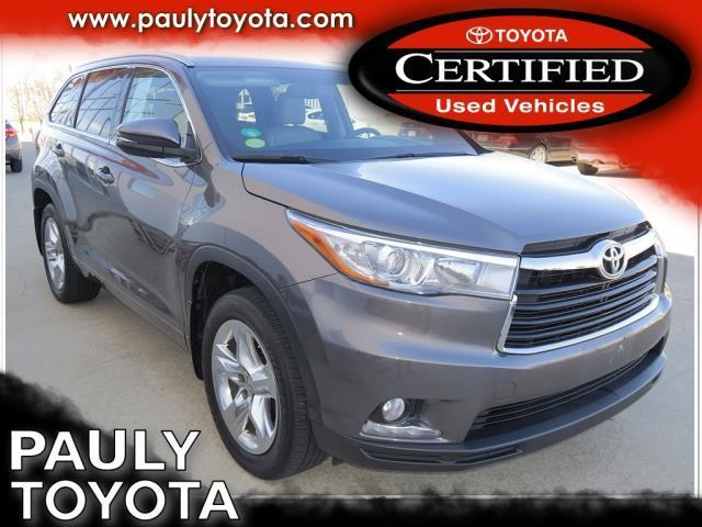 2014 toyota highlander limited awd limited 4dr suv for sale in crystal lake illinois classified. Black Bedroom Furniture Sets. Home Design Ideas