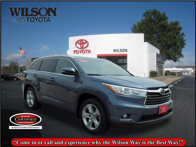 2014 toyota highlander limited awd limited 4dr suv for sale in ames iowa classified. Black Bedroom Furniture Sets. Home Design Ideas