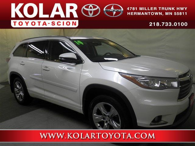 2014 Toyota Highlander Limited AWD Limited 4dr SUV for ...