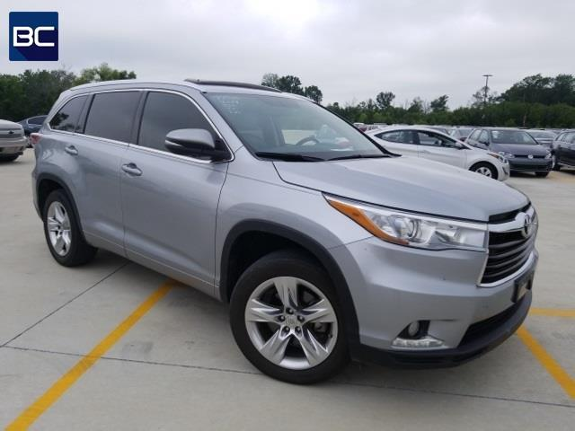 2014 toyota highlander limited limited 4dr suv for sale in tupelo mississippi classified. Black Bedroom Furniture Sets. Home Design Ideas