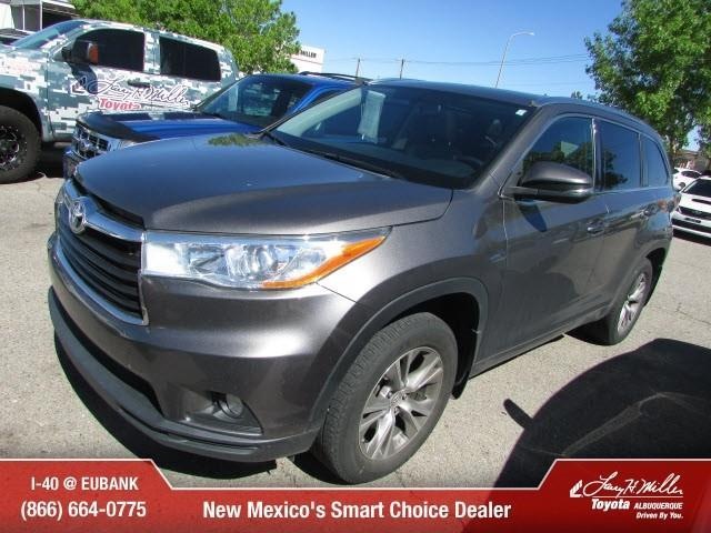 2014 toyota highlander xle awd xle 4dr suv for sale in albuquerque new mexico classified. Black Bedroom Furniture Sets. Home Design Ideas