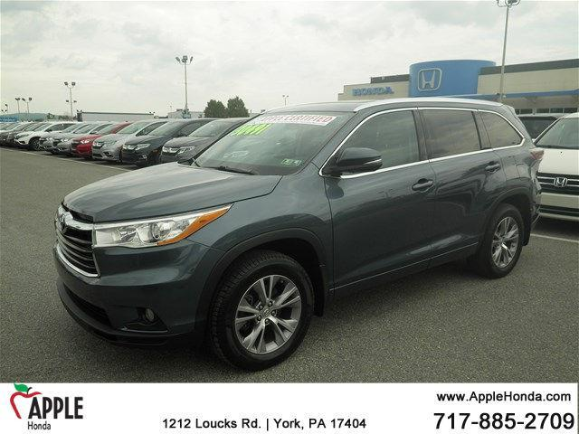 2014 toyota highlander xle awd xle 4dr suv for sale in york pennsylvania classified. Black Bedroom Furniture Sets. Home Design Ideas