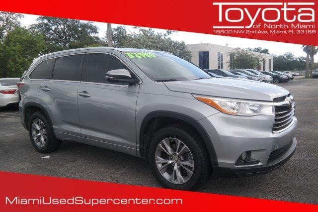 2014 toyota highlander xle xle 4dr suv for sale in miami florida classified. Black Bedroom Furniture Sets. Home Design Ideas